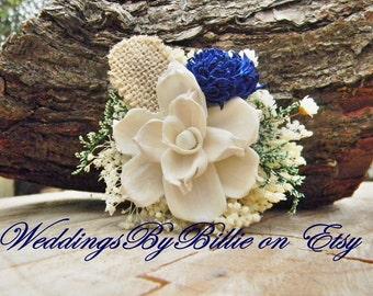 Wedding Corsage, Mother Corsage, Prom Corsage, Sola Flower Corsage, Mother's Corsage, Wedding Flowers, Navy Corsage, Keepsake Corsage, Sola
