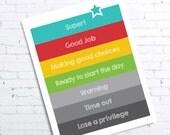 Behavior Clip Chart Printable