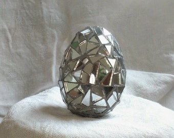 Mosaic Mirror Egg