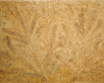 Abstract Acrylic Painting Brown Painting Tan Painting Fossil Painting Modern Art Contemporary Art Abstract Art