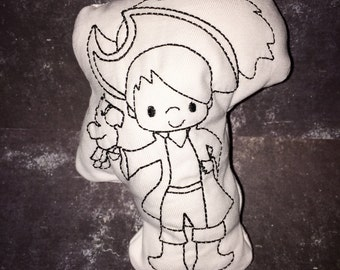 Pirate Doodle Its Color Your Own Stuffie for Kids