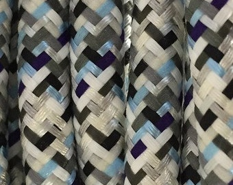 Cable electric textile / fabric