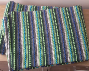 Luxury 100% Cotton Blanket Carpet Bedspread Sofa Cover Large PicnicThrow 150x210 cm Decor