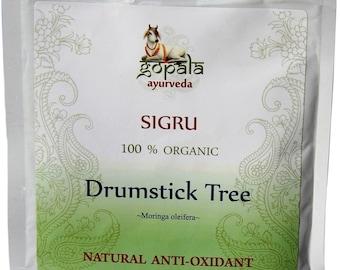 Moringa Powder - 250g (USDA Certified Organic) - Gopala Ayurveda
