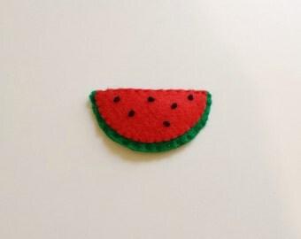 Watermelon Felt Hair Pin