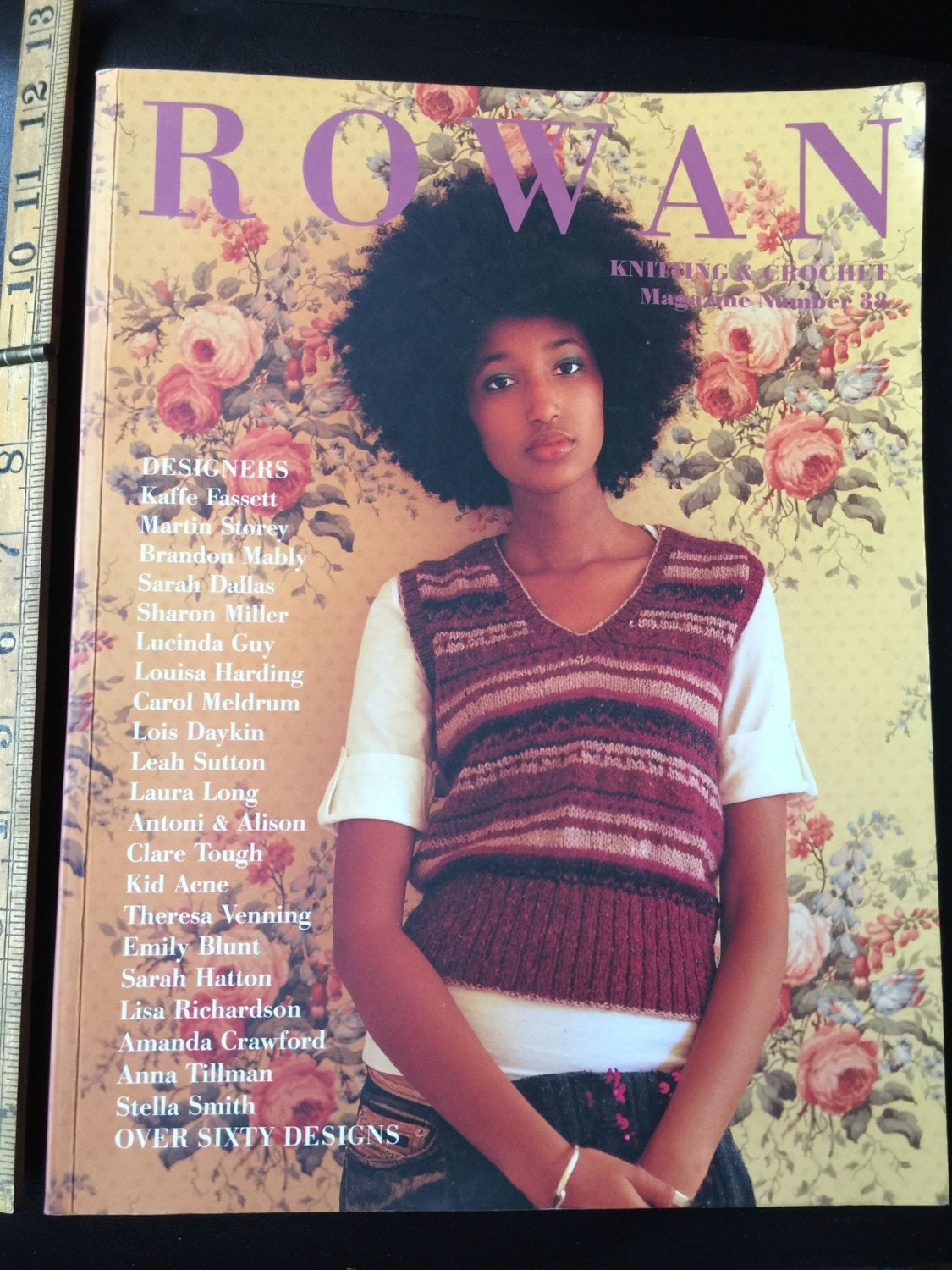 Knitting And Crochet Magazine : Rowan knitting and crochet magazine no zm