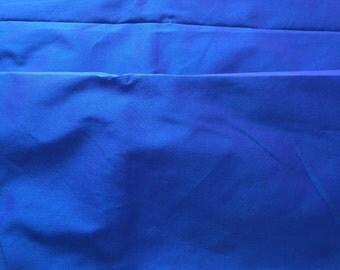 Dark blue Dupioni silk, 100% pure silk dupioni, heavy weight, luxury fabric