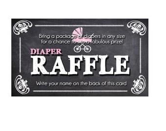 baby girl diaper raffle, baby shower diaper raffle, diaper raffle printable, diaper raffle ticket printable, instant download
