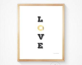 Love print, Inspirational quote, Nursery art, Nursery wall art, Love printable, Home decor, Nursery decor, Inspirational print, Love,