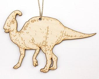 Parasaurolophus Christmas Ornament