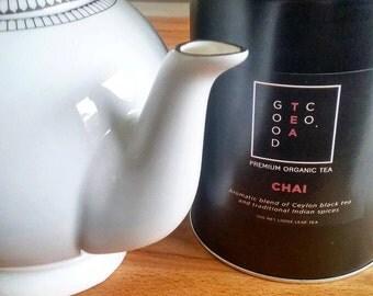 Chai Tea Tin- Organic Hand Picked Chai Loose Leaf Tea