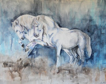 Spanish dust- watercolor painting