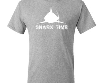 Shark Time T-Shirt by Inktastic