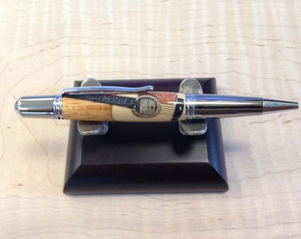 Inlaid guitar Pen, Perfect gift idea! Handmade by Specialty Turned Designs