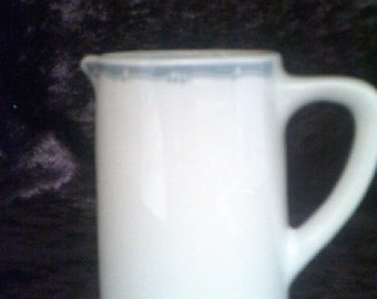 Bristile Wembley Ware Hotel China 10 oz Creamer / Milk Jug