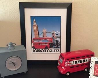 London Calling Print