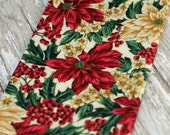 ALMOST a Fat Quarter, Christmas Fabric, 100% Cotton Fabric, Sewing and Crafting Supply #321 ok