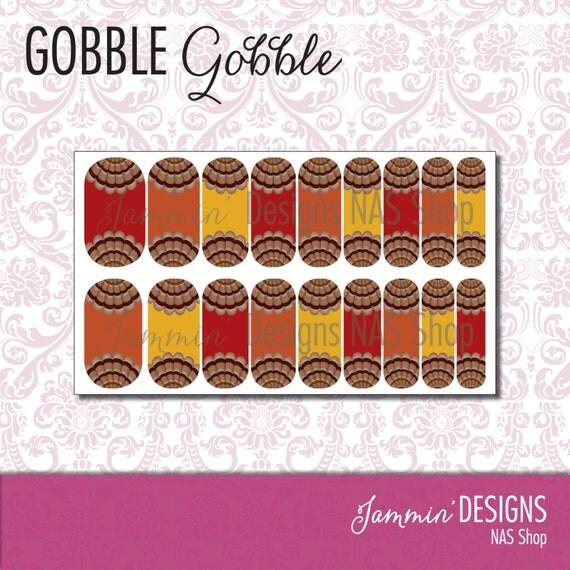 Gobble, Gobble Floral NAS (Nail Art Studio) Design