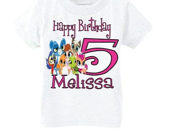 Littlest Pet Shop Birthday Shirt, Personalized Birthday Shirt, Littlest Pet Shop