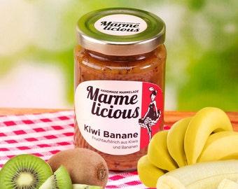 Kiwi banana fruit spread