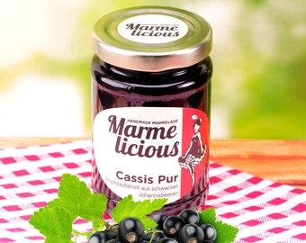 Pure Cassis fruit spread