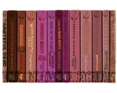 Grateful Dead Studio Albums as a Series of Books (PRINT)
