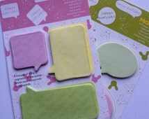 Chat Bubble Sticky Notes