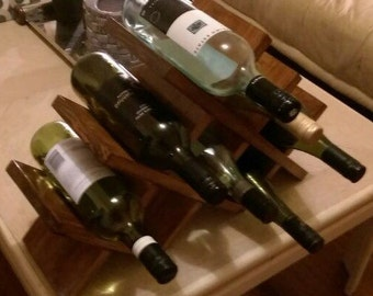 8 bottle wine holder