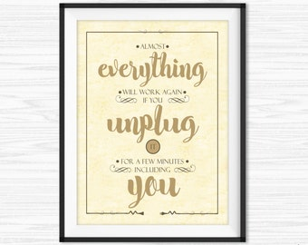Office Decor Inspirational Quote Motivational Wall Decor Office Wall Art  Canvas Quotes Dorm Room Decor Bedroom
