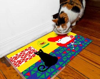 Mod Cats Pet Laminated Placemat