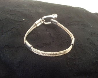 All inox steel handmade bracelet