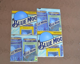 Blue Moon Coasters (Seasonal-Summer)