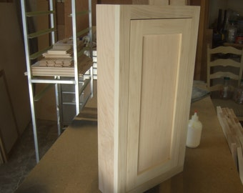 Shaker Medicine Cabinet,  Surface Mount.   Available with mirror,    Amish, Mission, Shaker designs,