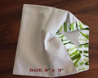 Reusable Vegetable Bag/Organic Cotton ;Linen/Fruit Bag