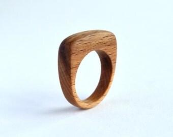 Flamed Beech Ring