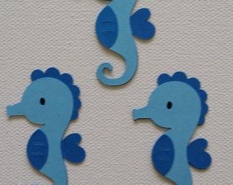 Seahorse Die Cut Set of 3