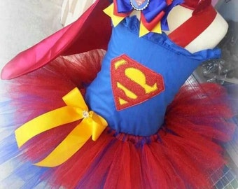 Super Girl Tutu costume