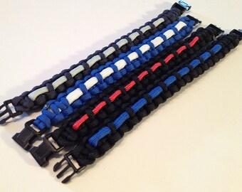 Thin Line First Responder Bracelet