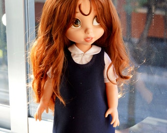 School Navy Clothes for Disney Animator Doll