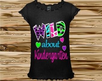 Back to School Shirt - Kindergarten Shirt - Preschool Shirt