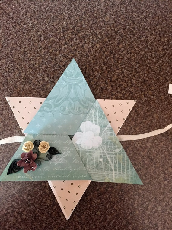 Star Folded Greeting Card