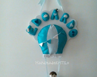 Stitchable balloon with HandmadeKriTiLo cloud