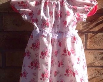 SALE Handmade Baby Girls' Party Dress 3-6 months SALE