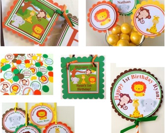 Jungle Babies Complete Party Package