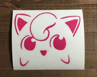 Jiggly Puff Decal