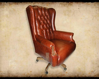 El Capitan Leather Office Chair