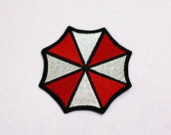 Umbrella Corp. Embroidery Iron On Patch - MAKE TO ORDER
