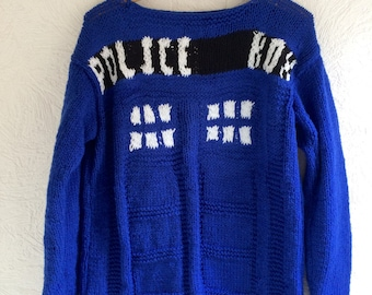 Doctor who jumper (made to order)