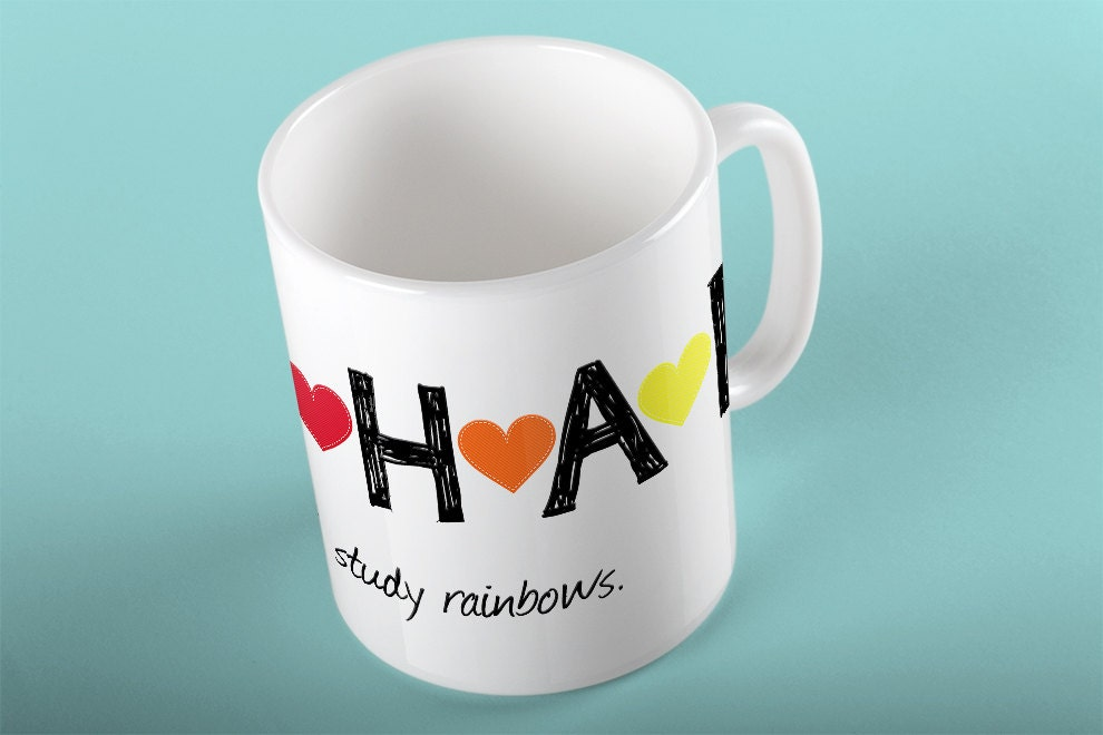 Coffee Mug Harry Styles I Study Rainbows Mug Harry Styles