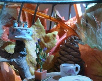 Autumn Boun-tea Faerie Garden